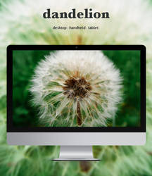 Dandelion by leoatelier