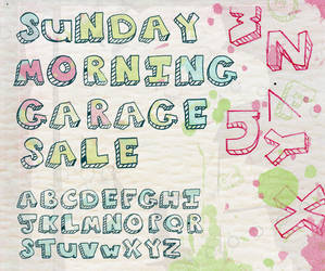 Sunday Morning Garage Sale by Lydia-distracted