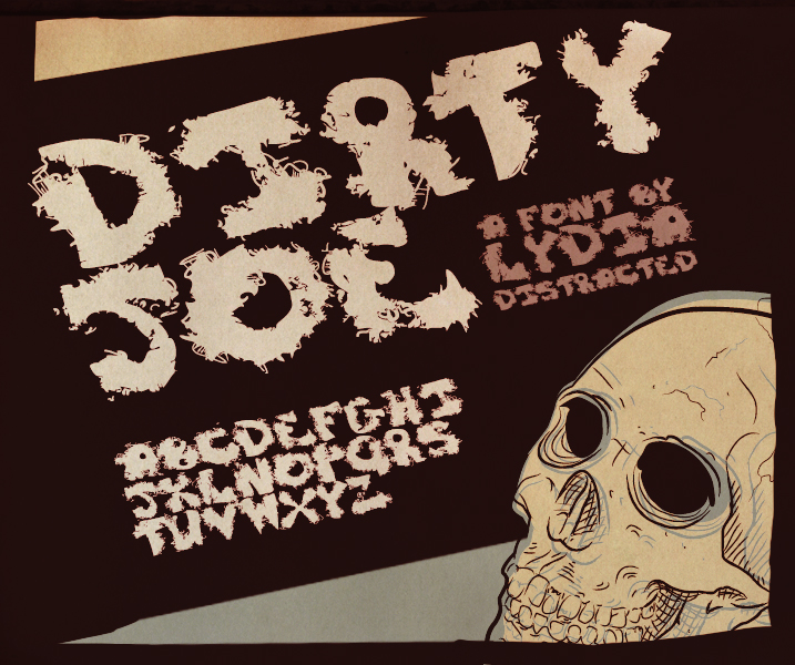 Dirty Joe - FONT