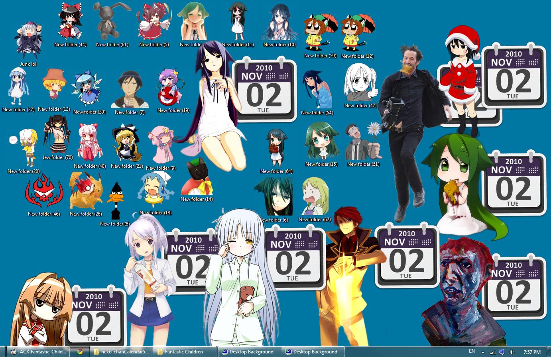 скачать аниме иконки: