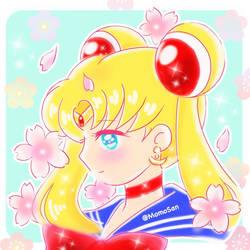 Tsukino Usagi Sailormoon Chan by Mom0San