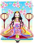 Nezuko Chan Hina Princess