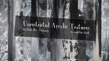 Unrestricted Acrylic Textures