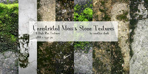 Unrestricted Moss and Stone Texture Pack