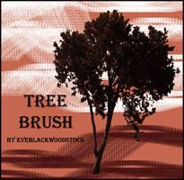 tree brush 2 by EveBlackwoodStock