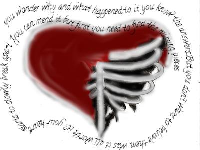 broken heart by fax4ever