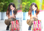 PSD Colorization (ft. Selena Gomez)