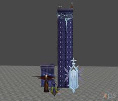 [XPS DL] KH2: World That Never Was Model Pack by silverhikari