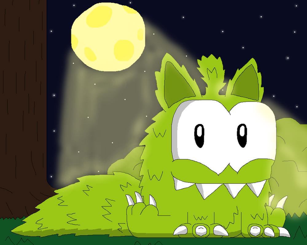 Werewolf Om Nom by tarzanwothaz