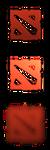 Dota 2 Logo Start Button by jamalix