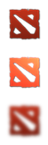 Dota 2 Logo Start Button by jamalix