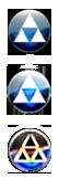 Blue Triforce Orb by jamalix