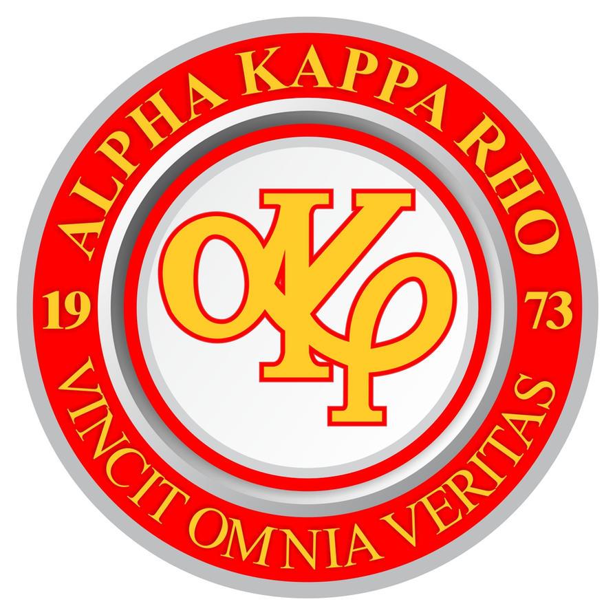 Alpha Kappa Rho Vector Logo by winsomeba2malaque