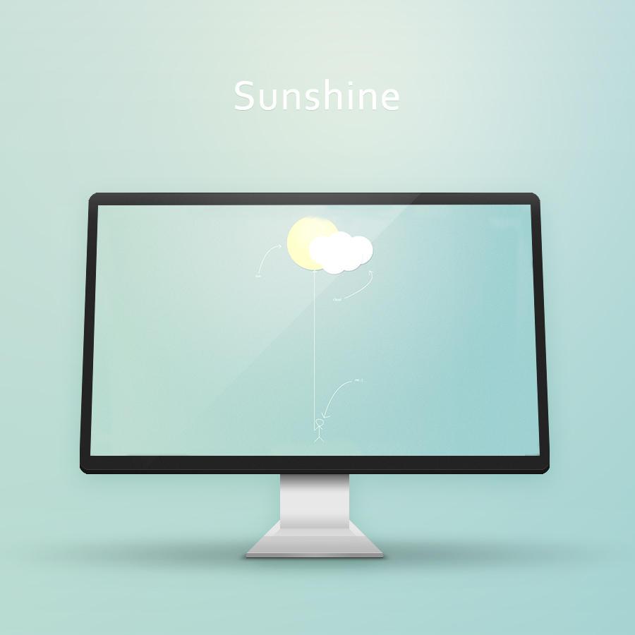 Sunshine Wallpaper by rikozi