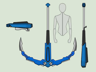 [Animated] RWBY Scamp Corsair - OC weapon by RaighnDraconus