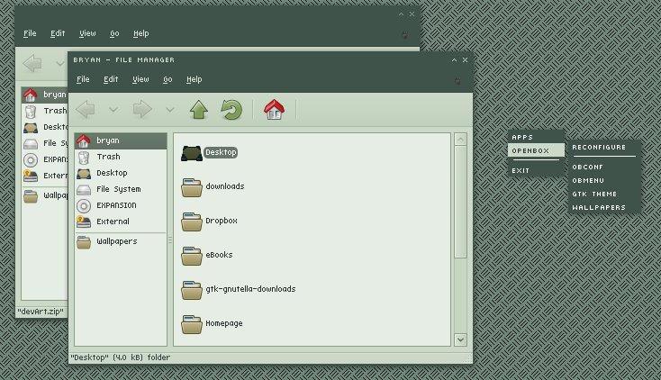 devArt openbox theme by synorgy