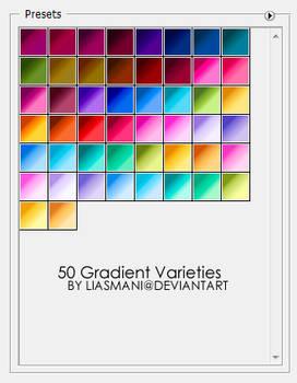50 Gradient Varieties