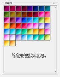 50 Gradient Varieties by Liasmani