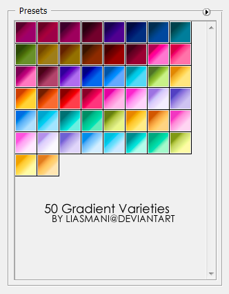 http://fc05.deviantart.net/fs45/i/2009/057/9/e/50_Gradient_Varieties_by_Liasmani.png