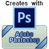 'Creates with Adobe Photoshop' Thumbnail by StatusGear