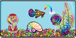 ANIMATED! Rainbow Fancy PixelFish - CLOSED by thetauche