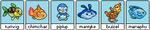 Adoptable PixelFish Pokemon Gen IV by thetauche