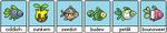 Adoptable PixelFish Pokemon Grass 1 by thetauche