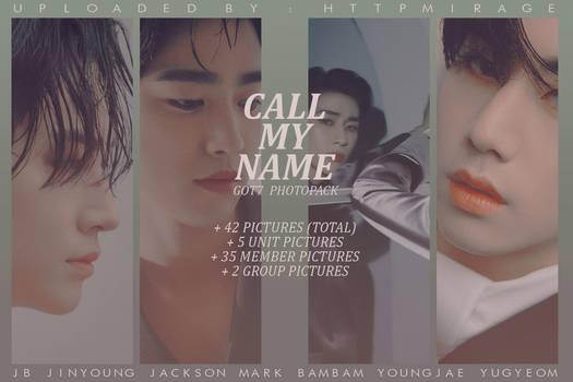 GOT7 : Call My Name // HQ PHOTOPACK