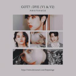 GOT7   DYE (V1/V2)  Photopack #1