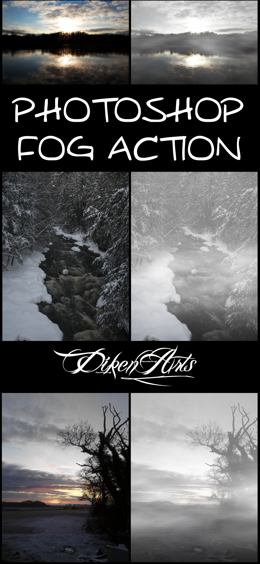 Photoshop Fog Action by ysndkn on DeviantArt