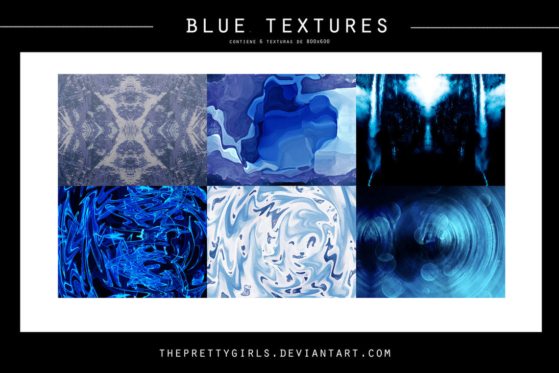 Blue Textures by ThePrettyGirls