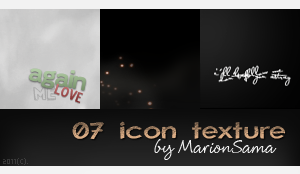 07 icon texture. by MarionSama