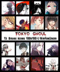 [BASES ICONS] Tokyo Ghoul