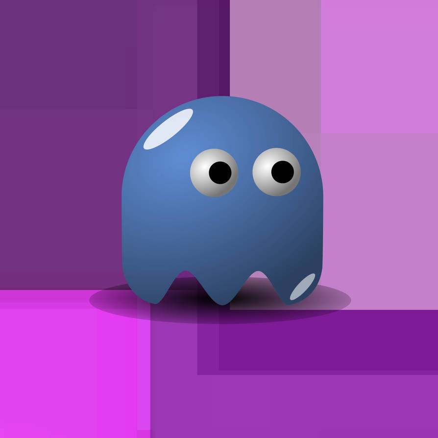 Vector Test #1: Pac-Man Ghost by hippowdonmaster on DeviantArt