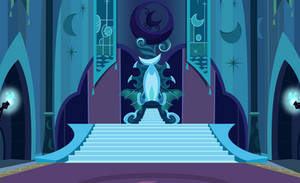 Nightmare Moon's Throne by Drakizora