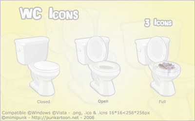 WC Icons by mimipunk