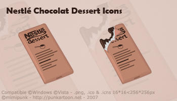 Nestle Chocolate Icons by mimipunk
