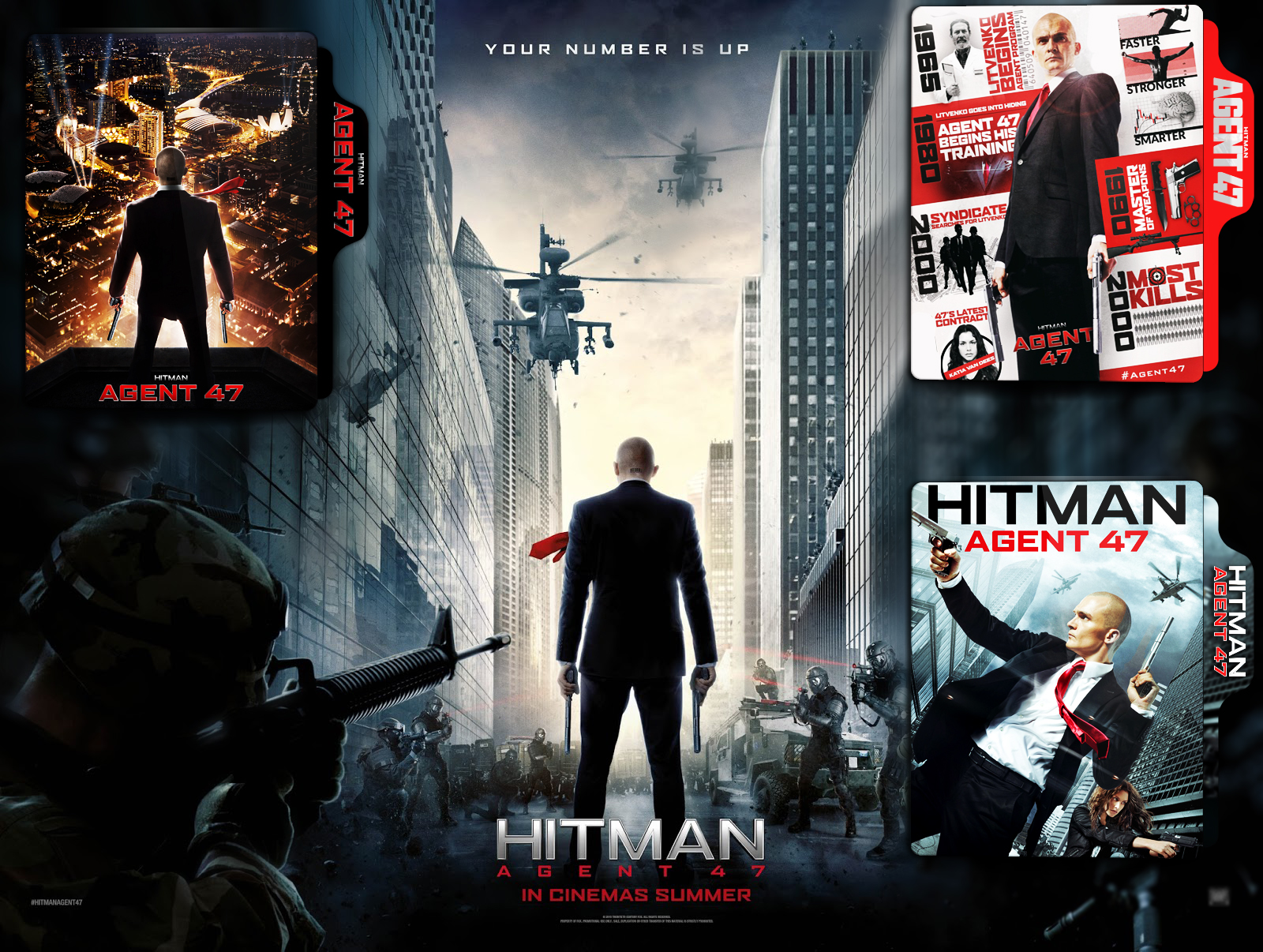 Hitman Agent 47 2015 Folder Icon By Arjunnokha On Deviantart