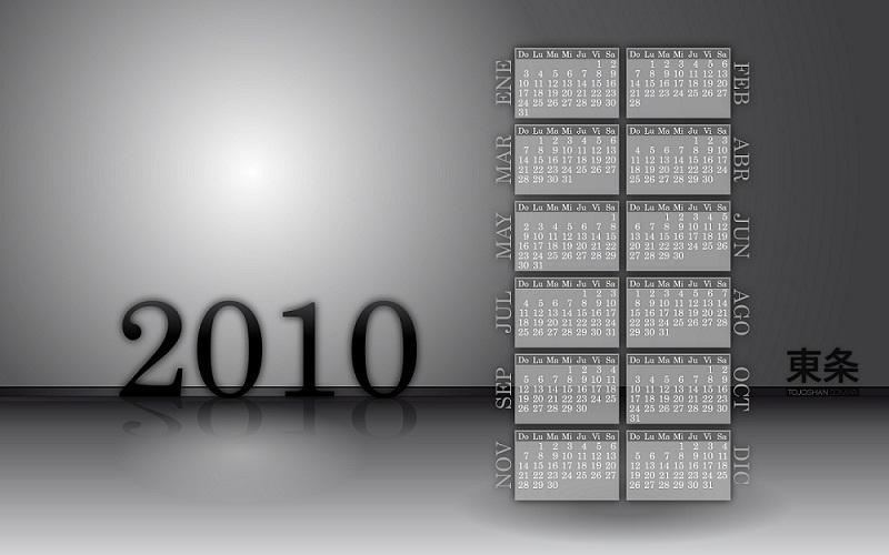 Calendar 2010 Calendario 2010 by tojoshan