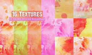 16 Textures .. by Silent-yelling