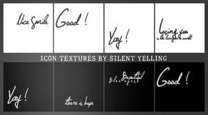 Icon Textures ...