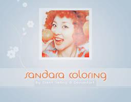 Sandara Psd Coloring