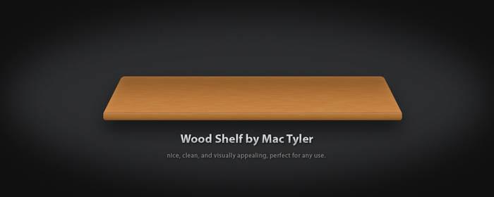 Wood Shelf .PSD