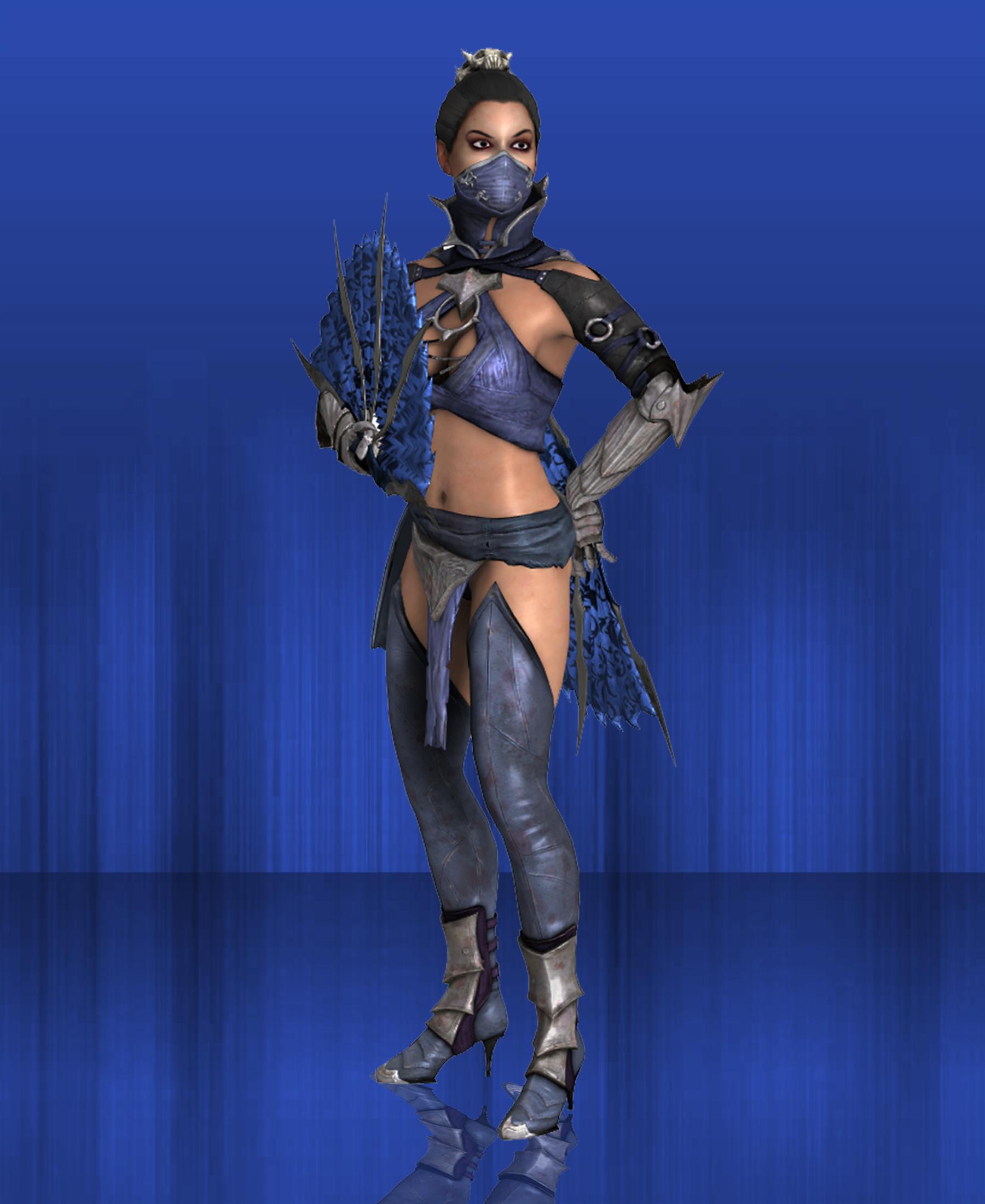 MKX Retexture: Non Revenant Kitana by TheG-Flash