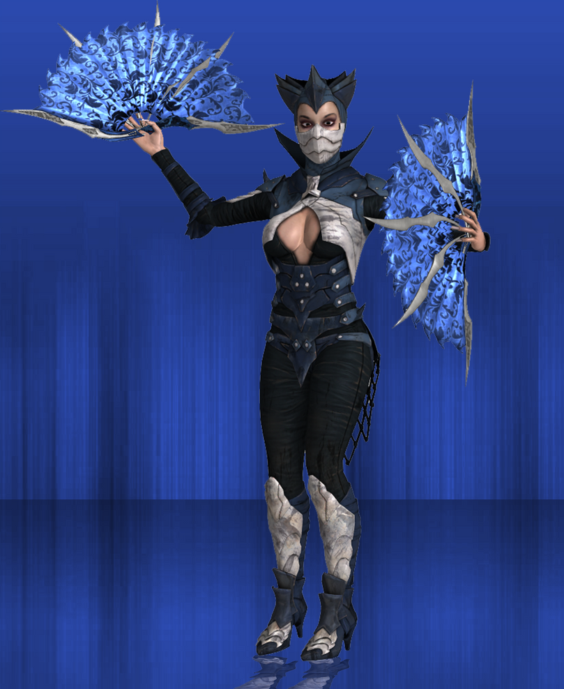 MKX Retexture: Non Revenant Dark Empress Kitana by TheG-Flash