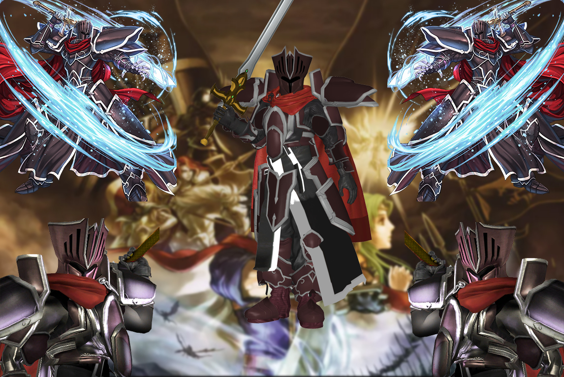 Ssbwiiu Mod Model Black Knight By Theg Flash On Deviantart