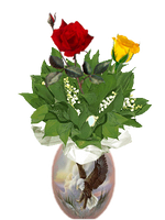Bar-Flowers by Euselia