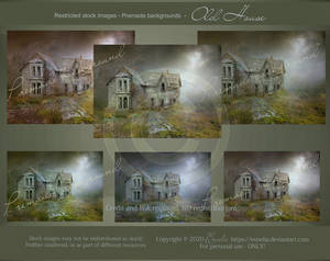 PREMADE background - Old House