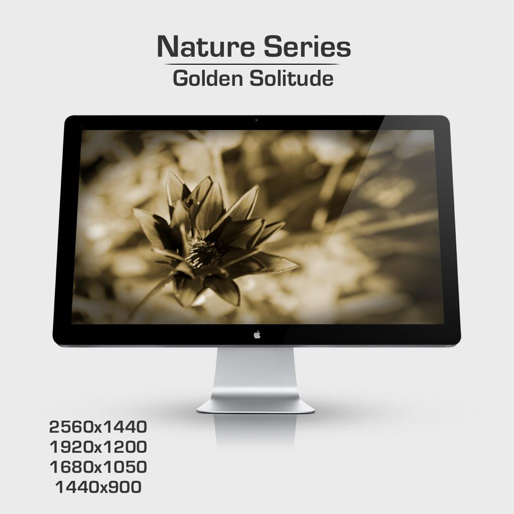 Golden Solitude by palobo