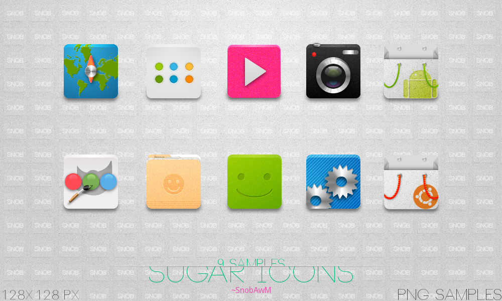 Sugar Icons 1.2 by SNOBAwM